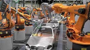 ربات های خط تولید ماشین